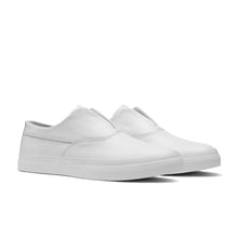 HUF DYLAN SLIP ON // WHITE LEATHER-The Collateral