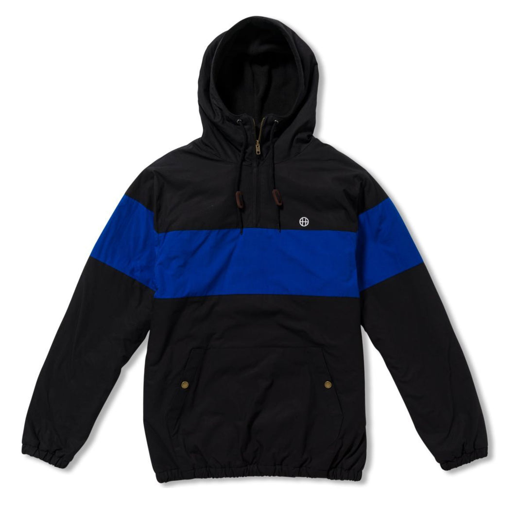 HUF EXPLORER-1 ANORAK JACKET \\ BLACK-The Collateral