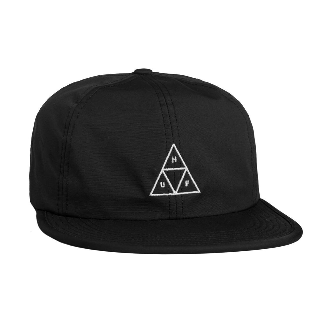 HUF FORMLESS TRIPLE TRIANGLE 6 PANEL // BLACK-The Collateral