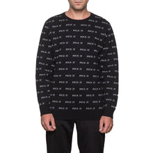 HUF FUCK IT JACQUARD SWEATER \\ BLACK-The Collateral