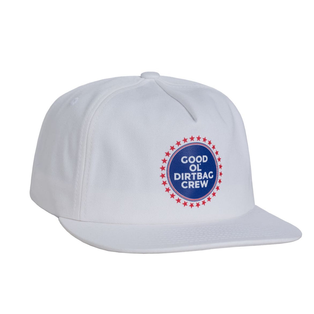 HUF GOOD OL DBC SNAPBACK // WHITE-The Collateral