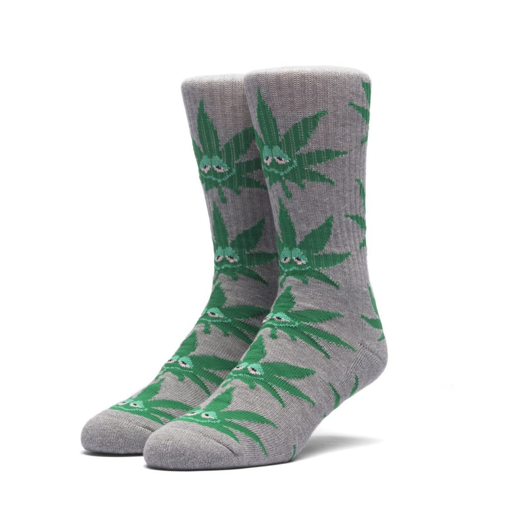 HUF GREEN BUDDY CREW SOCK // GREY-The Collateral