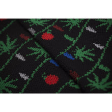 HUF ITS LIT GLOW IN THE DARK SOCK // BLACK-The Collateral