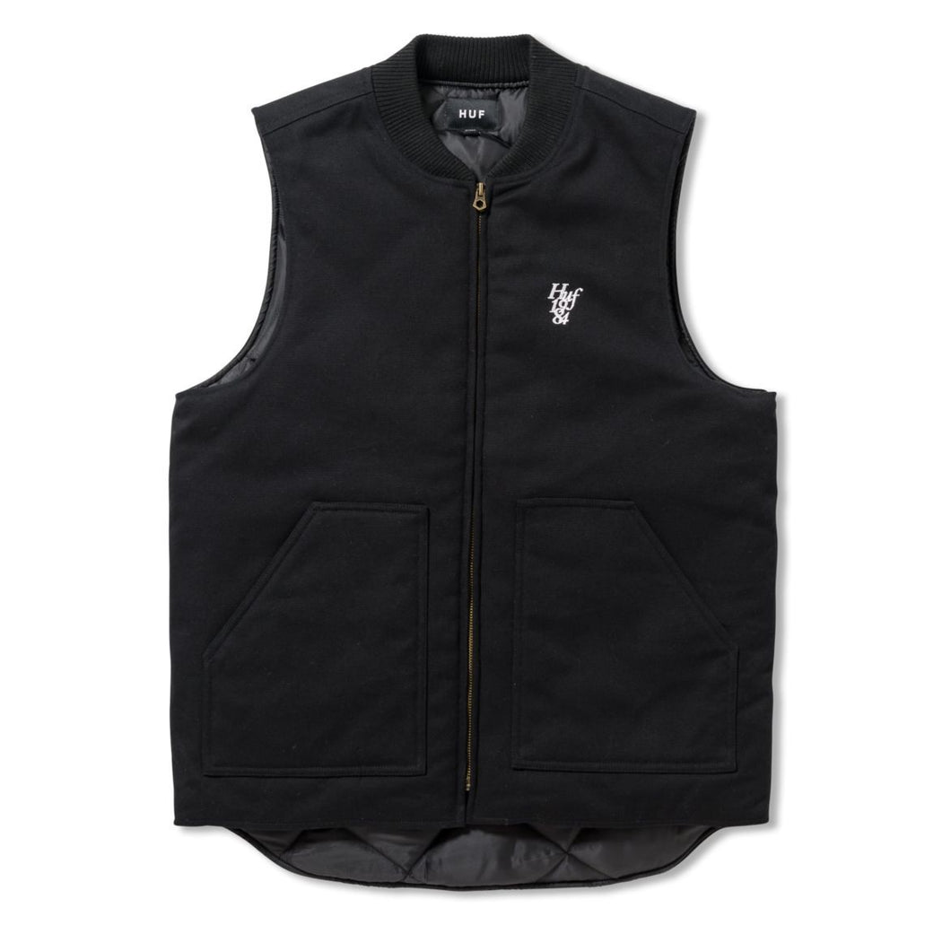 HUF KILO WHISKEY VEST \\ BLACK-The Collateral