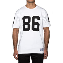HUF LAYNE CREW S/S FOOTBALL JERSEY // WHITE-The Collateral