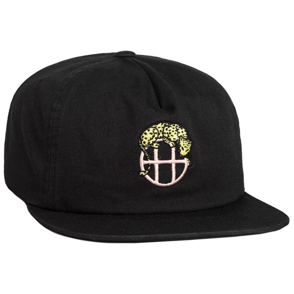HUF LEOPARD SNAPBACK // BLACK-The Collateral