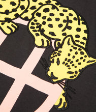 HUF LEOPARD TEE // BLACK-The Collateral