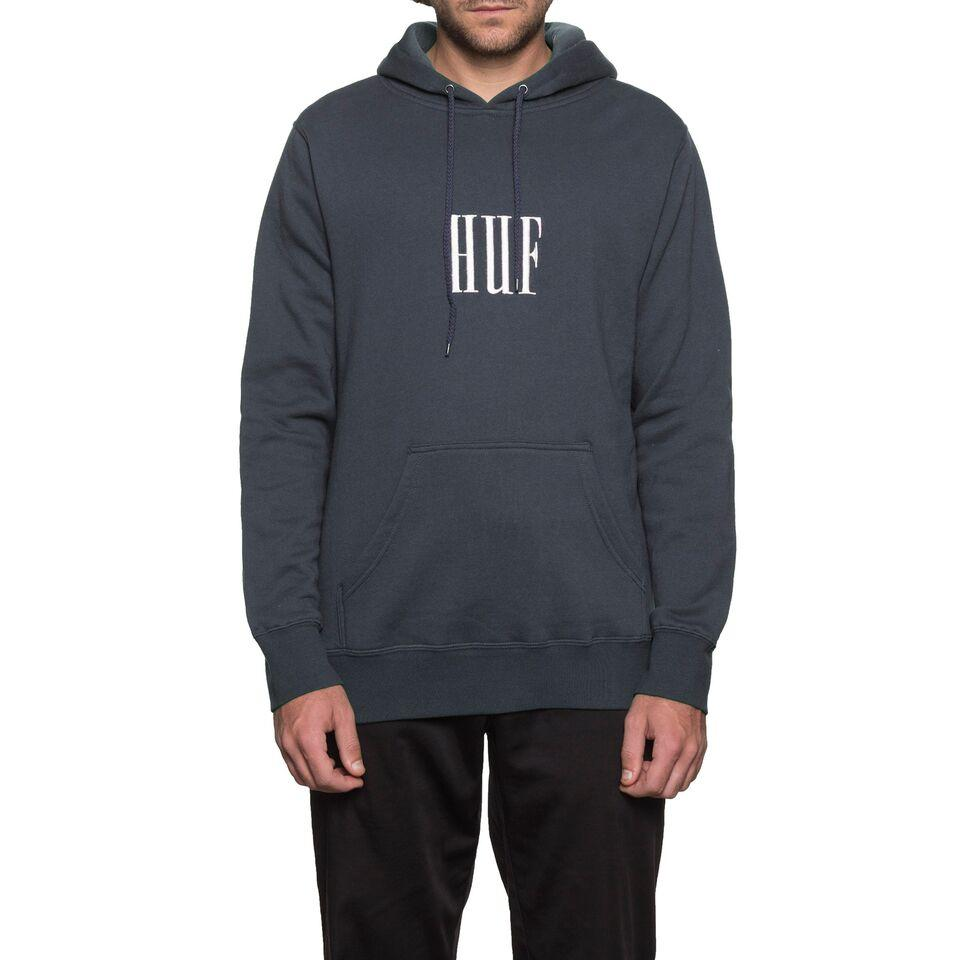 HUF MARKA PULLOVER FLEECE \\ NAVY-The Collateral