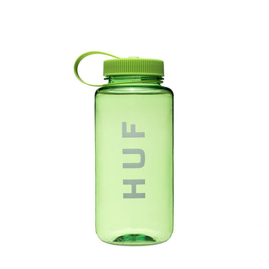 HUF ORIGINAL LOGO WATER BOTTLE // GREEN-The Collateral