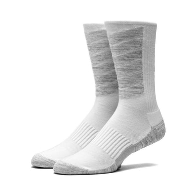 HUF PERFORMANCE PLUS CREW SOCK // WHITE-The Collateral