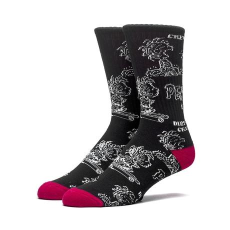 HUF PIGPEN DBC CREW SOCK // BLACK-The Collateral