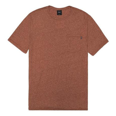 HUF PREMIUM MOCK TWIST POCKET TEE // RUST-The Collateral