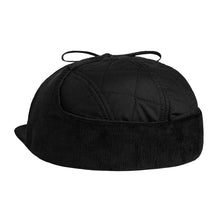 HUF QUILTED DOG EAR VOLLEY // BLACK-The Collateral