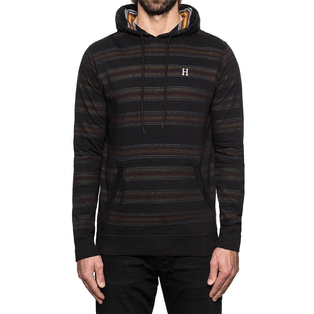 HUF SERAPE PULLOVER HOOD // BLACK-The Collateral