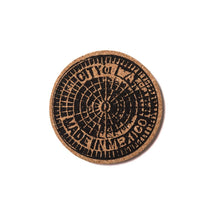 HUF SEWER CAP COASTER PACK (6 PACK OF ASSORTED CORK COASTERS)-The Collateral