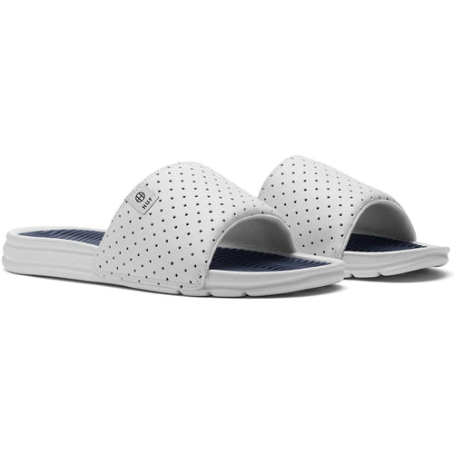 HUF SLIDE // WHITE/NAVY-The Collateral