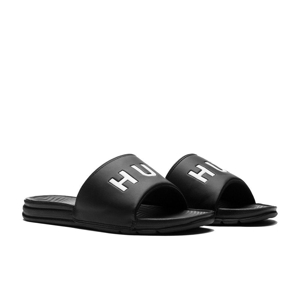 HUF SLIDES // BLACK-The Collateral