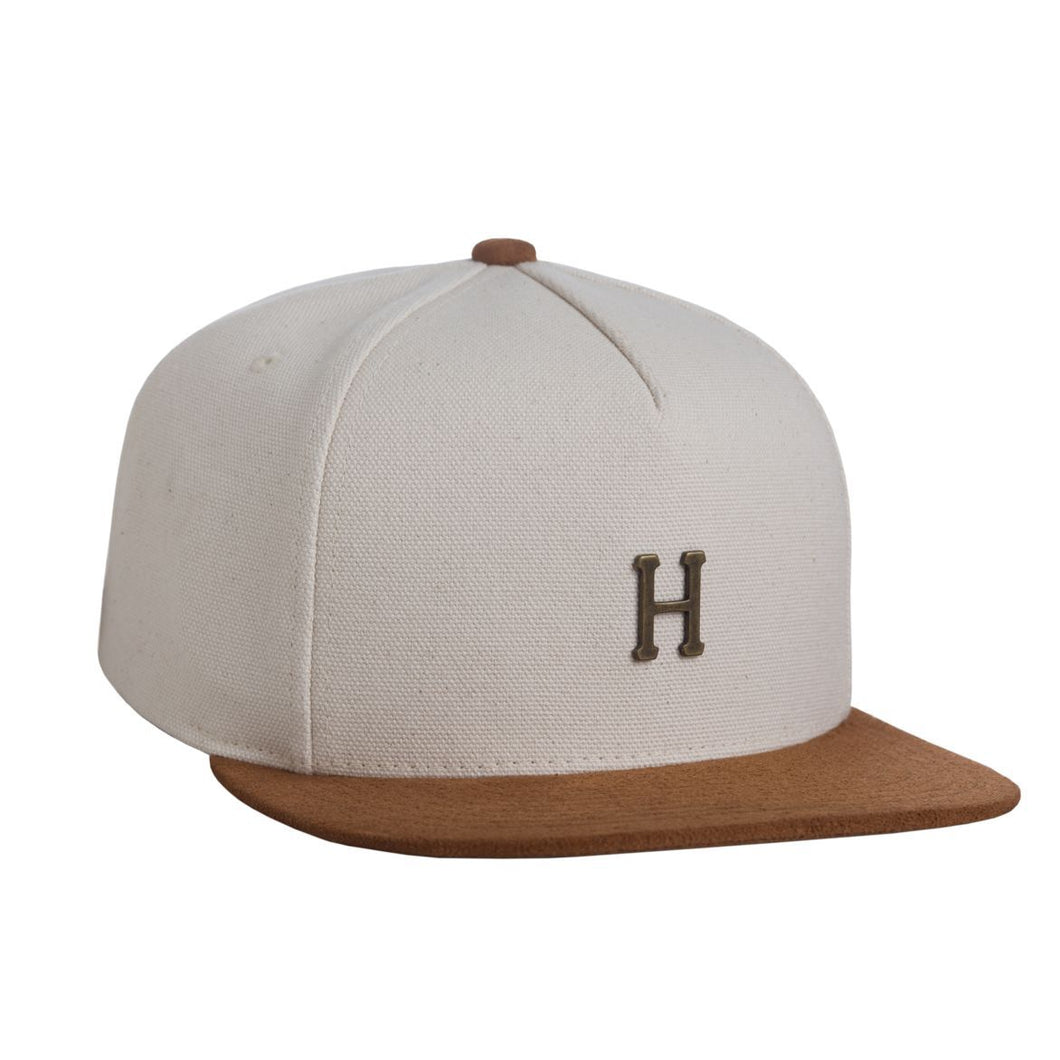 HUF SMALL METAL H STRAPBACK // NATURAL-The Collateral