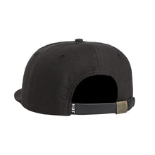 HUF SPIKE 6 PANEL // BLACK-The Collateral