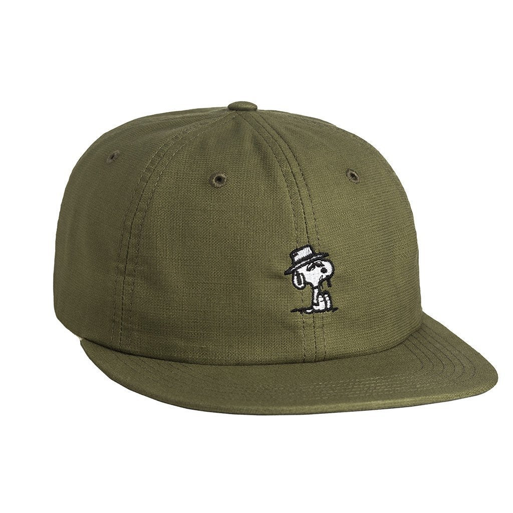 HUF SPIKE 6 PANEL // OLIVE-The Collateral