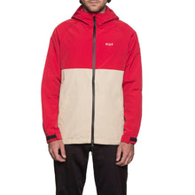 HUF STANDARD SHELL JACKET \\ RED/TAN-The Collateral