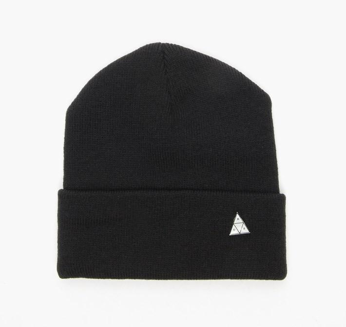 HUF TRIANGLE SERVICE BEANIE // BLACK-The Collateral