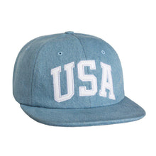 HUF USA DENIM 6 PANEL HAT-The Collateral