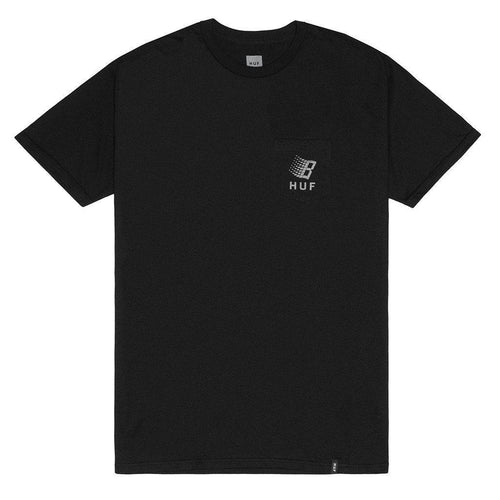HUF X BRONZE CORE REFLECTIVE POCKET TEE-The Collateral