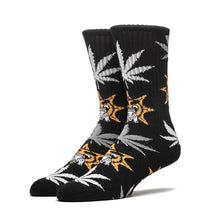HUF X CHIEF KEEF GLO GANG PLANTLIFE SOCKS // BLACK-The Collateral