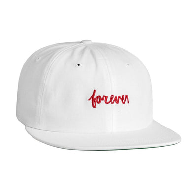HUF X CHOCOLATE FOREVER 6 PANEL // WHITE-The Collateral