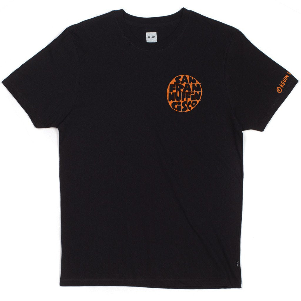HUF X KEVIN LYONS SF TEE // BLACK-The Collateral