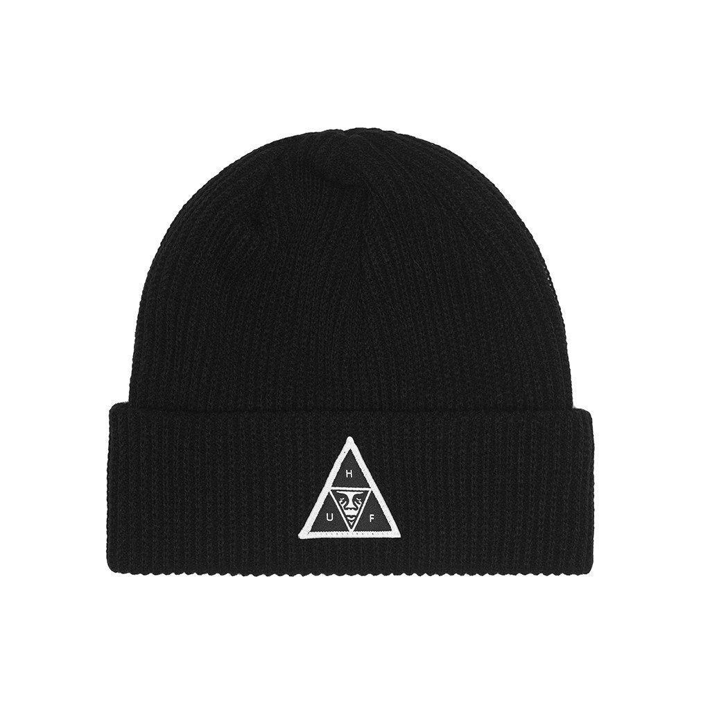HUF X OBEY BEANIE // BLACK-The Collateral