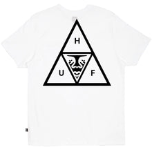 HUF X OBEY TRIPLE TRIANGLE POCKET TEE // WHITE-The Collateral