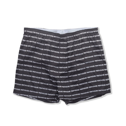 HUF X PENTHOSE SILK BOXER SHORT // BLACK-The Collateral