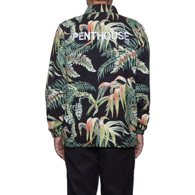 HUF X PENTHOUSE DENIM COACH JACKET \\ PALMS-The Collateral