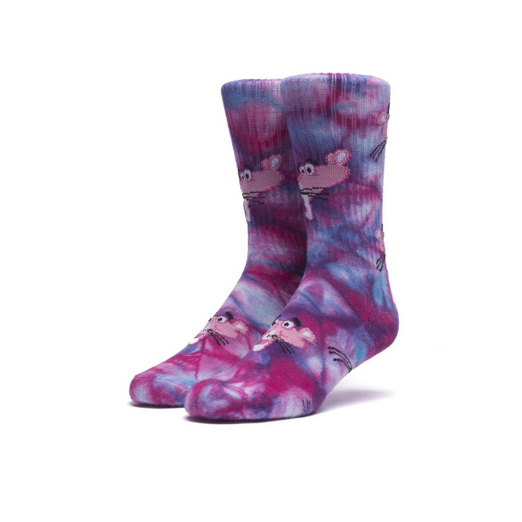 HUF X PINK PANTHER TIE DYE SOCK // MULTI-The Collateral