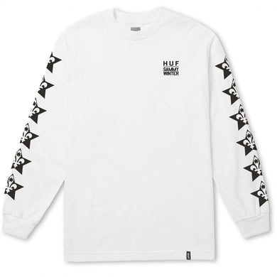 HUF X SAMMY WINTER LS TEE \\ WHITE-The Collateral