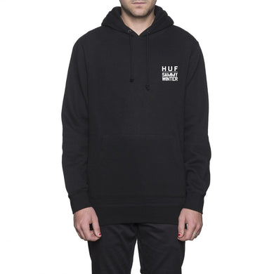 HUF X SAMMY WINTER PULLOVER HOOD // BLACK-The Collateral