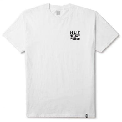 HUF X SAMMY WINTER TEE \\ WHITE-The Collateral