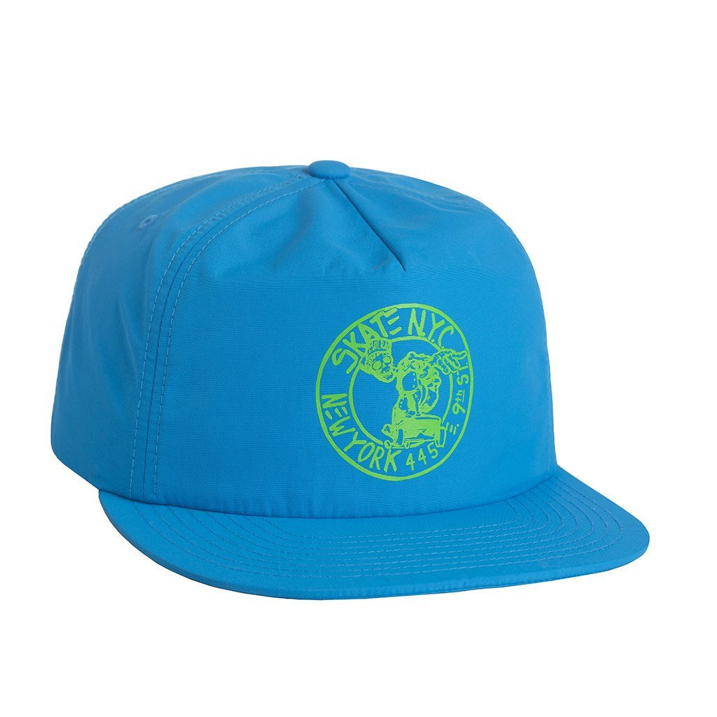 HUF X SKATE NYC ADDRESS SNAPBACK // ROYAL-The Collateral
