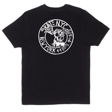 HUF X SKATE NYC ADDRESS TEE // BLACK-The Collateral