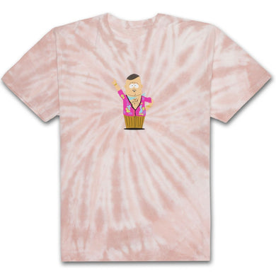 HUF X SOUTH PARK BIG GAY AL TIE-DYE TEE // PINK-The Collateral