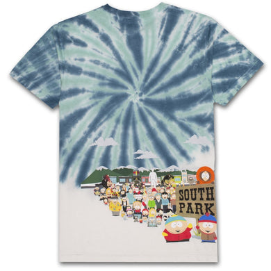 HUF X SOUTH PARK OPENING TEE // BLUE-The Collateral