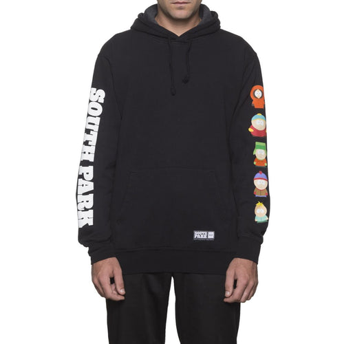 HUF X SOUTH PARK PULLOVER HOODIE // BLACK-The Collateral