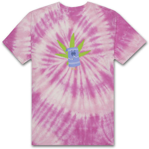 HUF X SOUTH PARK TOWELIE TIE-DYE TEE // PINK-The Collateral