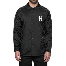 HUF X THRASHER CLASSIC H COACHES JACKET // BLACK-The Collateral
