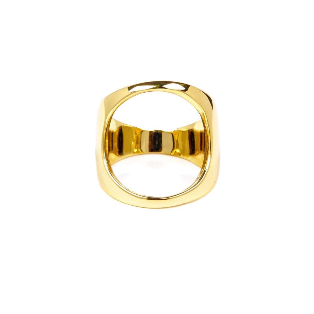 HAN CHOLO OPEN SPACE RING // GOLD