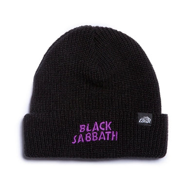 LAKAI X BLACK SABBATH BEANIE // BLACK
