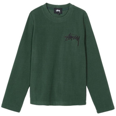 STÜSSY TERRA LS POLAR FLEECE // FOREST