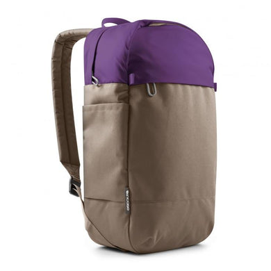 incase Campus Compact Backpack // PURPLE-WARM GRAY-The Collateral